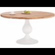 Jersey kerek tölgyfa asztal 6 db Genesis székkel - lavintagehome.hu