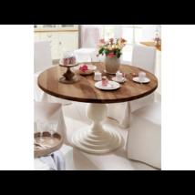 Jersey kerek tölgyfa étkezőasztal