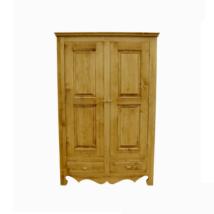 Karina rusztikus fenyőfa szekrény 2 ajtós - lavintagehome.hu