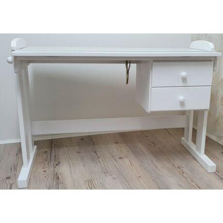 Carel tömörfa fehér gyerek íróasztal - lavintagehome.hu