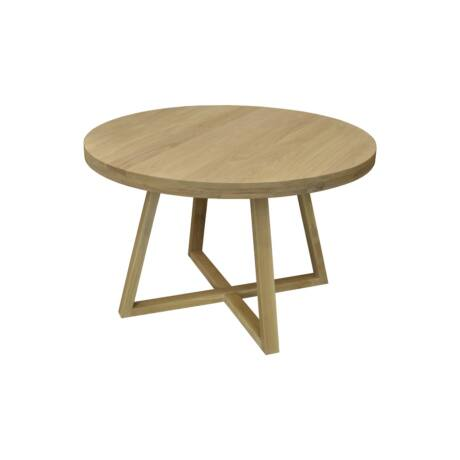 Jersey tölgyfa étkezőasztal 4D falábbal - lavintagehome.hu