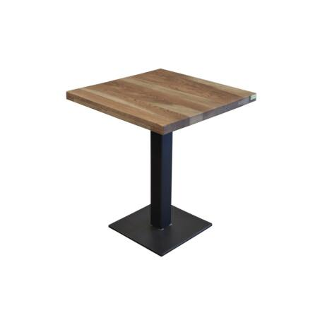 Mario tölgyfa bárasztal 60 X 60 cm - lavintagehome.hu