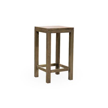 Skyler tölgyfa bárasztal 70 X 70 cm - lavintagehome.hu