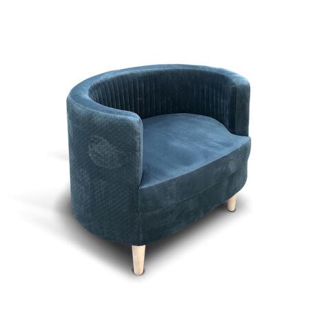 Perla kárpitozott bükkfa fotel - lavintagehome.hu