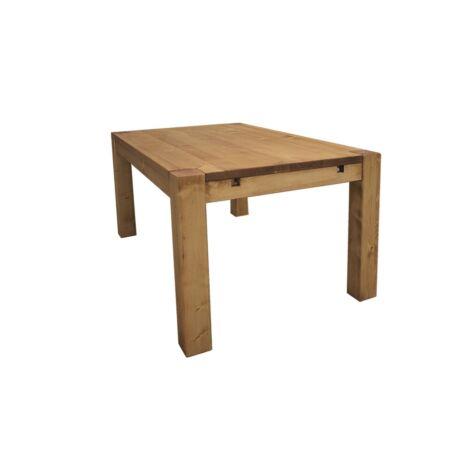 Adriana rusztikus fenyőfa étkezőasztal 140 cm - lavintagehome.hu